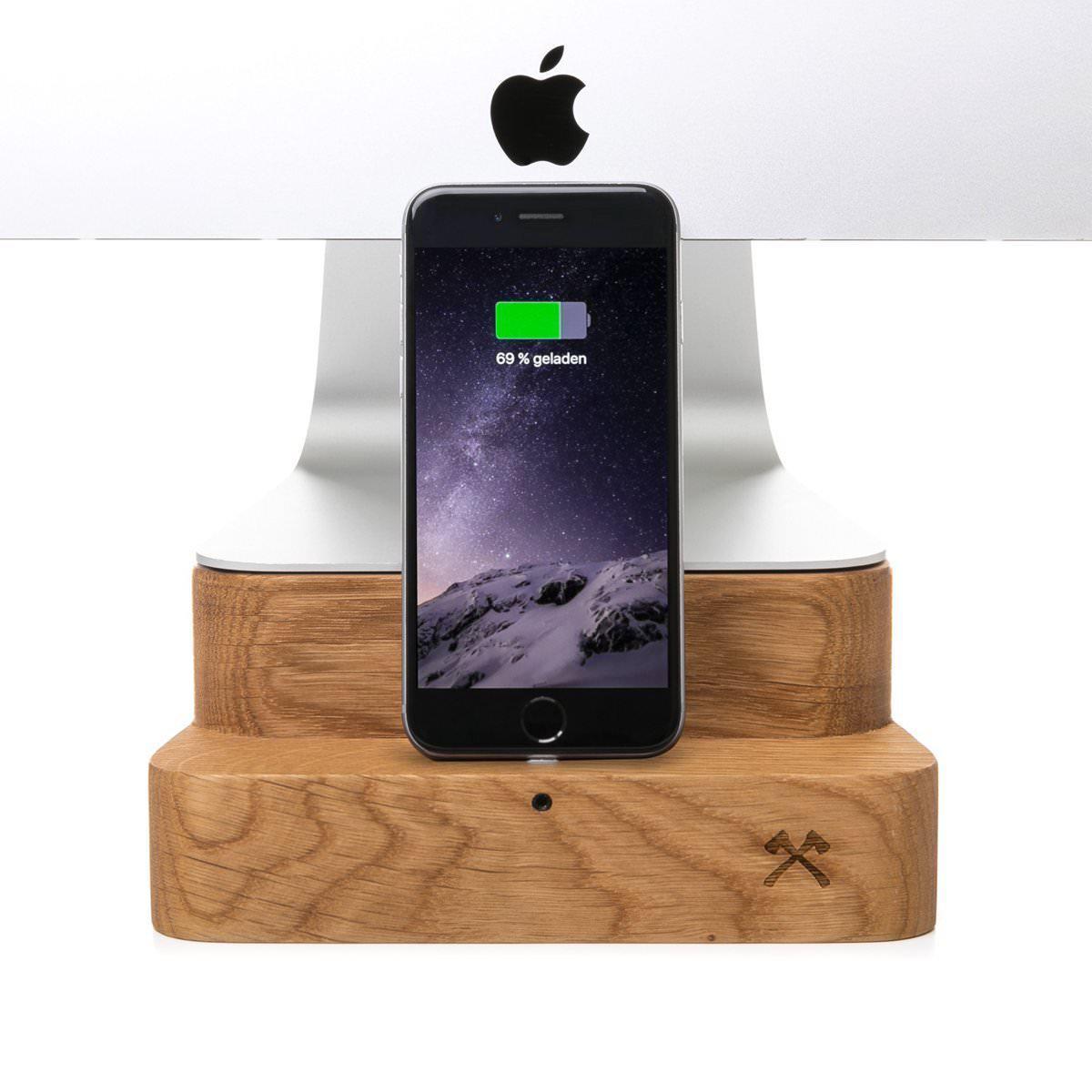 iMac Ständer mit iPhone Ladestation