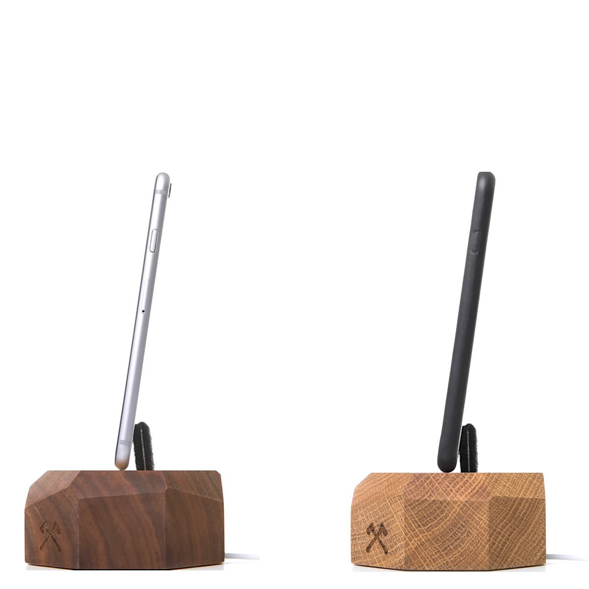 iPhone Charging Dock Wood