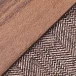 Walnut/ Brown Wool